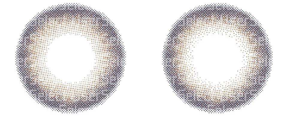 色素薄い系/修正案:アンバー比較