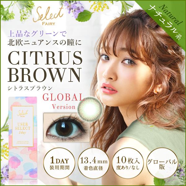 グローバル版シトラスブラウン商品画像