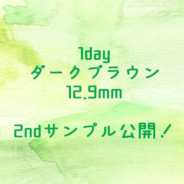 1dayダークブラウン12.9mm2ndサンプルアイキャッチ
